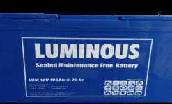 Luminous 12v200ah- LPTTEX Tubular Battery