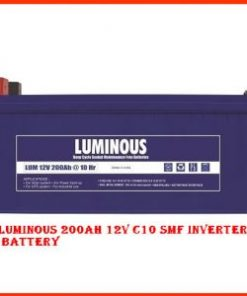 Luminous 12v200ah SMF Deep Cycle Battery