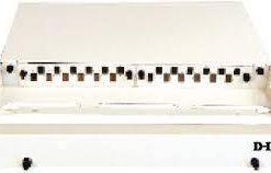 D-Link LIU 24 Port Rack Mount Unloaded Fiber Patch Panel