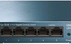TP-Link LS105G 5-Port 10/100/1000Mbps Desktop Network Switch