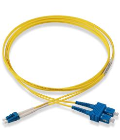 APS  2m Duplex Optical Fiber Patch cord LC-SC