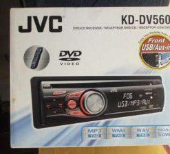 JVC KD-DV5606 Multimedia DVD/CD car audio