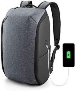 Kingsons 15.6″ Laptop foldable Grey backpack