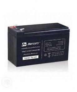Mercury 12V 7.5AH sealed ups battery