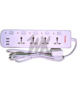 Tronic Extension 3 Way With USB (EC 7673-UB)