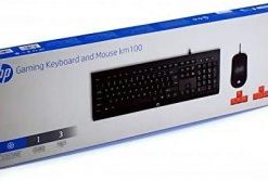 HP KM100 USB Gaming Keyboard and Mouse Black