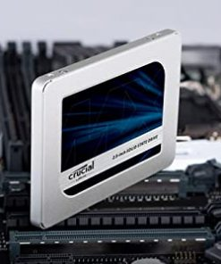 Crucial MX500 500GB 3D NAND SATA 2.5″ Internal SSD