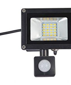 20W LED Security Floodlight With PIR Motion Sensor