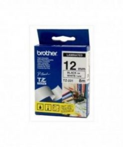 Brother 12TZ231 12mm Tapes