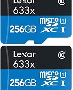Lexar 256GB High-Performance 633x UHS-I micro SDHC Memory Card