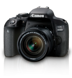 Canon EOS 800D with 18-55 IS Camera