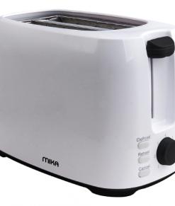 2 Slice Toaster 750W White & Grey