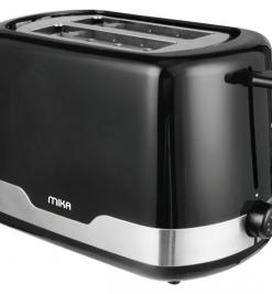 Mika MTS2201 2 Slice Toaster 750W, White & Black