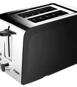 2 Slice 730W – 850W Toaster Black