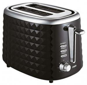 Mika 2 Slice MTS2204 Toaster 720W – 850W Black