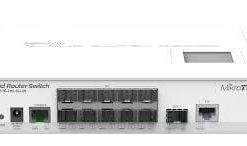 MikroTik CRS305-1G-4S+IN  5-port Desktop Switch