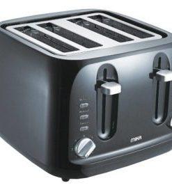 Mika 4 Slice 1700W – 2000W Stainless Steel Toaster