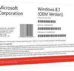 Microsoft Windows 8.1 Product Key Sticker