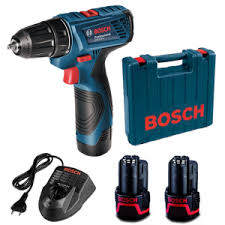 Bosch GDR 120-LI Cordless Impact Driver with Double Battery