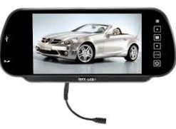 Car Rear View Mirror with Usb & Sd slot