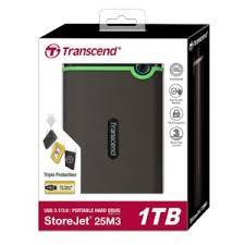 1TB Transcend External Hard Drive