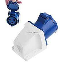 32 Amp 3pin Industrial Socket 220V-250Volt  IP44 Waterproof