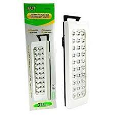 DP Light LED Light-30LED Rechargable Emergency Lamp