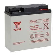 Yuasa 12v 17Ah Lead Rechargeable Battery