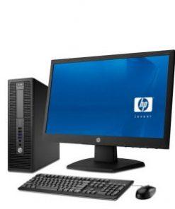 HP Elitedesk 705 G1 AMD A6 4GB RAM 500GB HDD 20″ Monitor Desktop