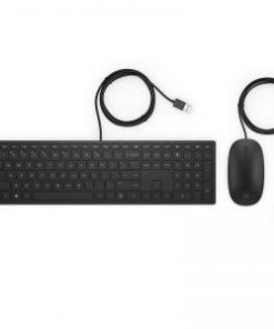 HP 400 USB Pavilion Keyboard and Mouse Black
