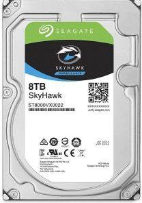 Seagate SkyHawk 8TB Surveillance CCTV Hard Drive