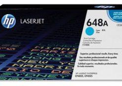 HP  648A, CE261A LaserJet Toner Cartridge