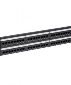 48 Port Cat 6 Ethernet RJ-45 Network Patch Panel