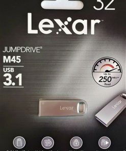 Lexar Jump Drive USB 3.1 M45 32GB Silver Housing Flash Drive