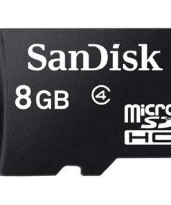 SanDisk 8GB Class 4 micro SDHC Memory Card