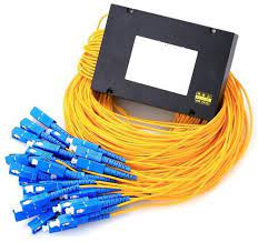1 X 16 module type 0.9mm PVC fiber jacket G657A1 with SC/PC connector